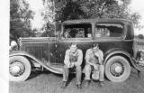 Robert and Geroge Behselich 1938 Ford first V8